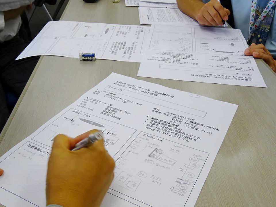 スポーツボランティア・上級リーダー養成研修会