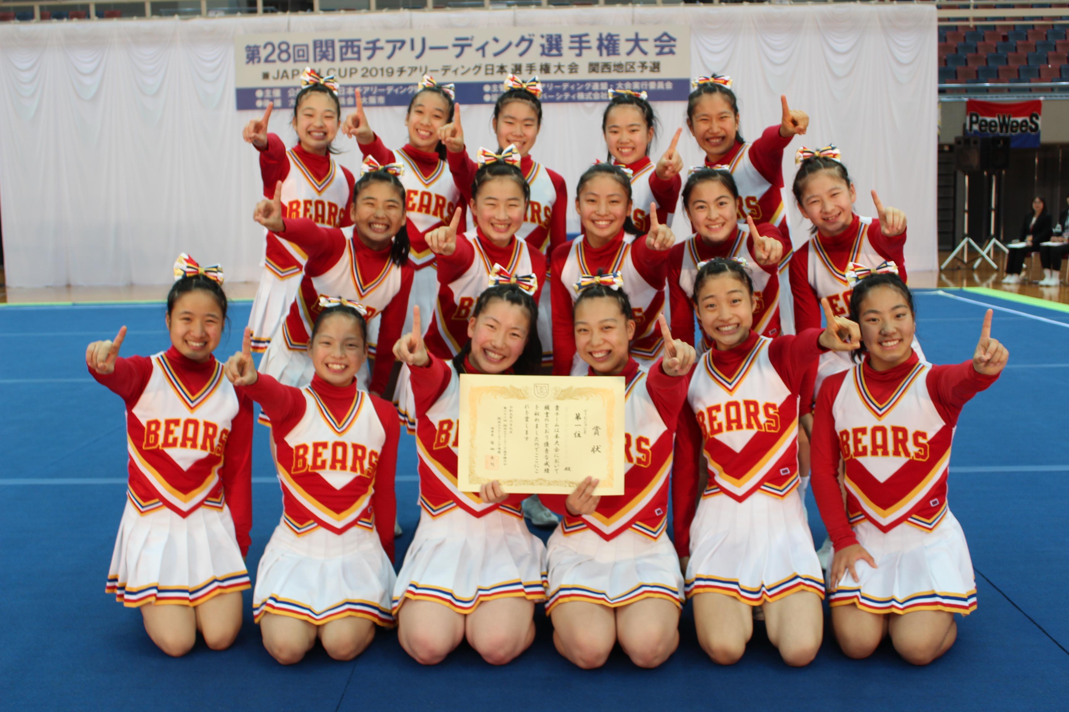 第29回関西チアリーディング選手権大会
