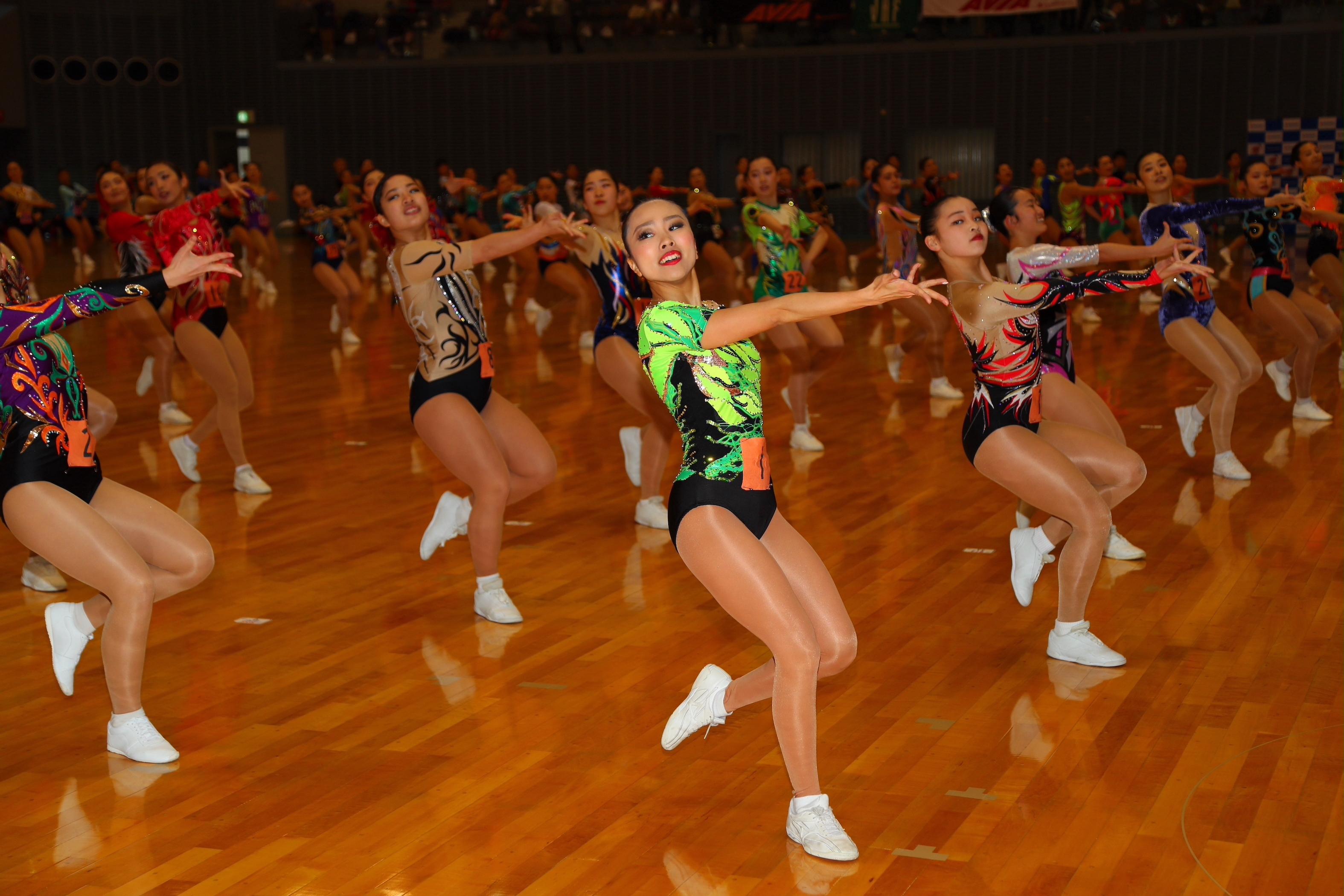 スポーツエアロビック2021大阪オープン(フライト競技)