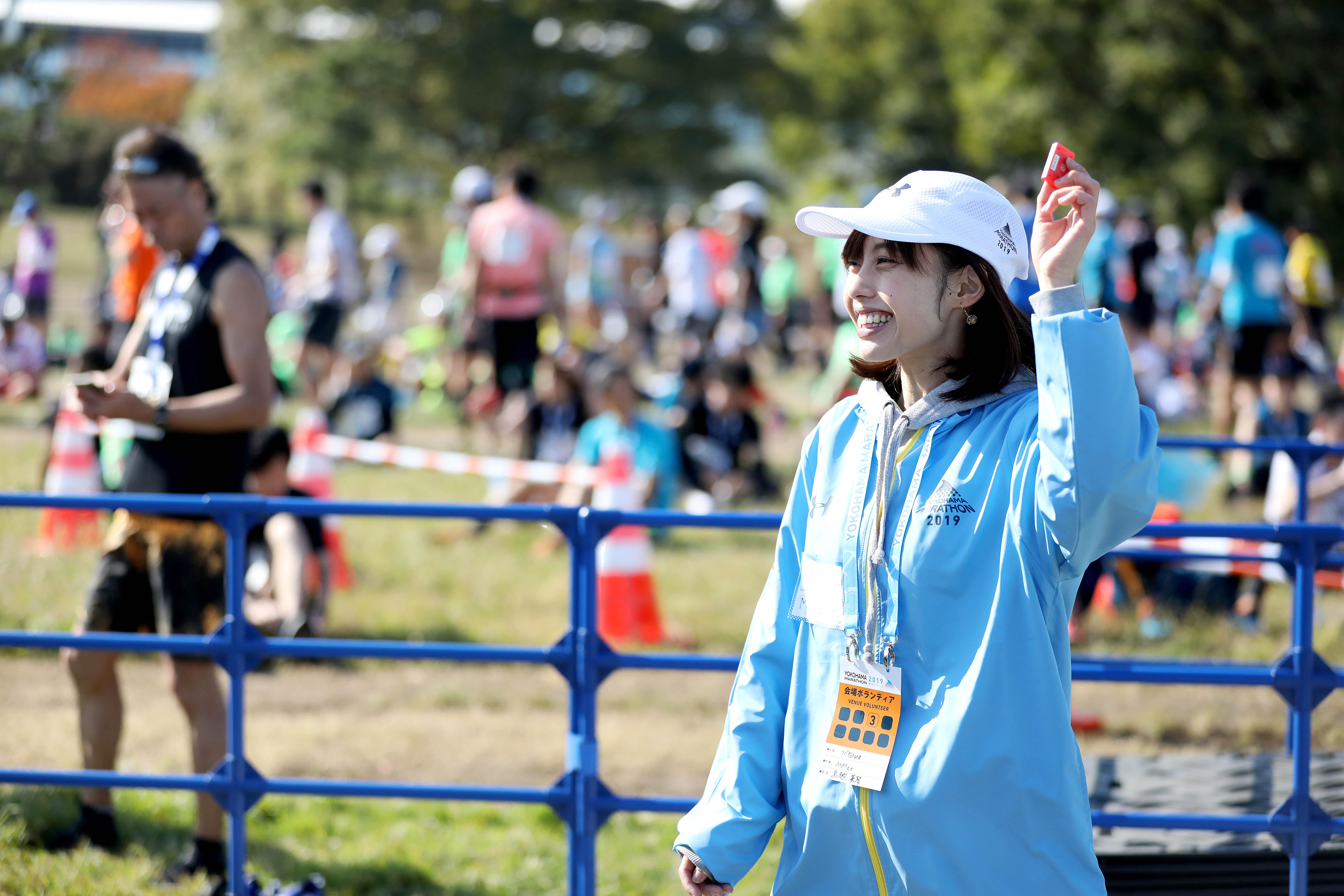 横浜マラソン(ボランティアメンバー募集)