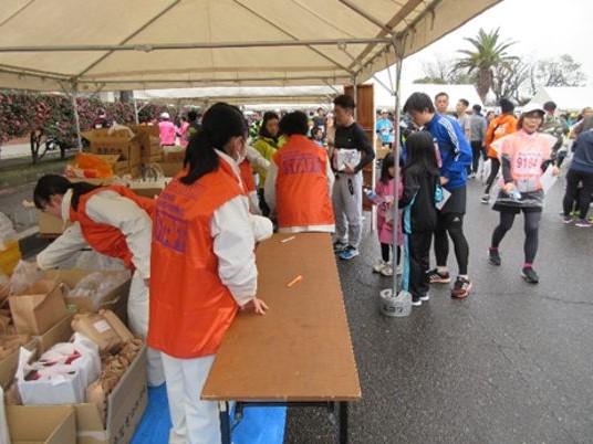 にしおマラソン2022 (午前 担当)